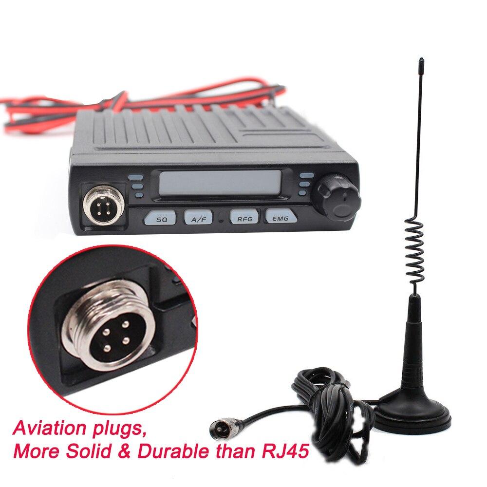 AC 001 Ultra Compact AM FM Mini Mobie 8W CB Radio 26MHz 27MHz 10 Meter Amateur