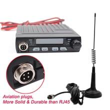 AC 001 Ultra Kompakt AM/FM Mini Mobie 8 W CB Radyo 26 MHz 27 MHz 10 Metre Amatör Mobil radyo Albrecht AE 6110 Vatandaş Bant Radyo
