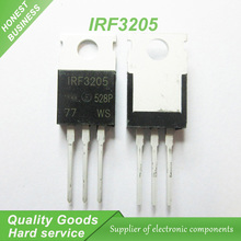 10pcs IRF3205 IRF3205PBF MOSFET MOSFT 55V 98A 8mOhm 97.3nC TO-220 new original(China)
