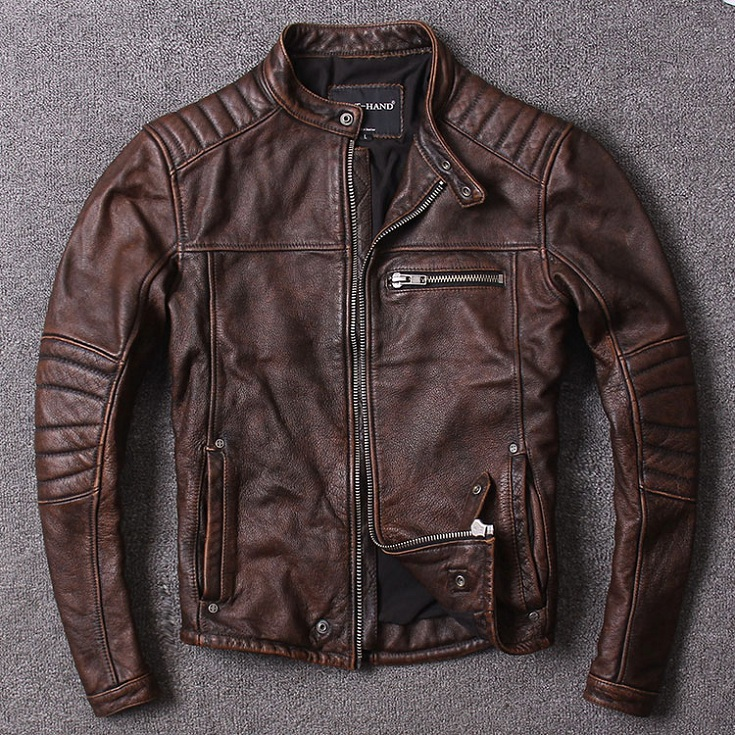 Free shipping New style warm mens clothes motor biker leather Jackets man black genuine Leather jacket Free shipping.New style warm mens clothes,motor biker leather Jackets,man black genuine Leather jacket.homme slim,cool,sales