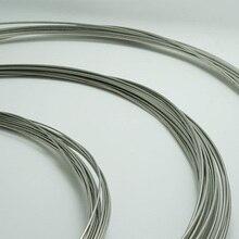 1 мм/1,5 мм/2 мм Высококачественная стальная проволока для сервопривода толкателя шасси DIY 1 м
