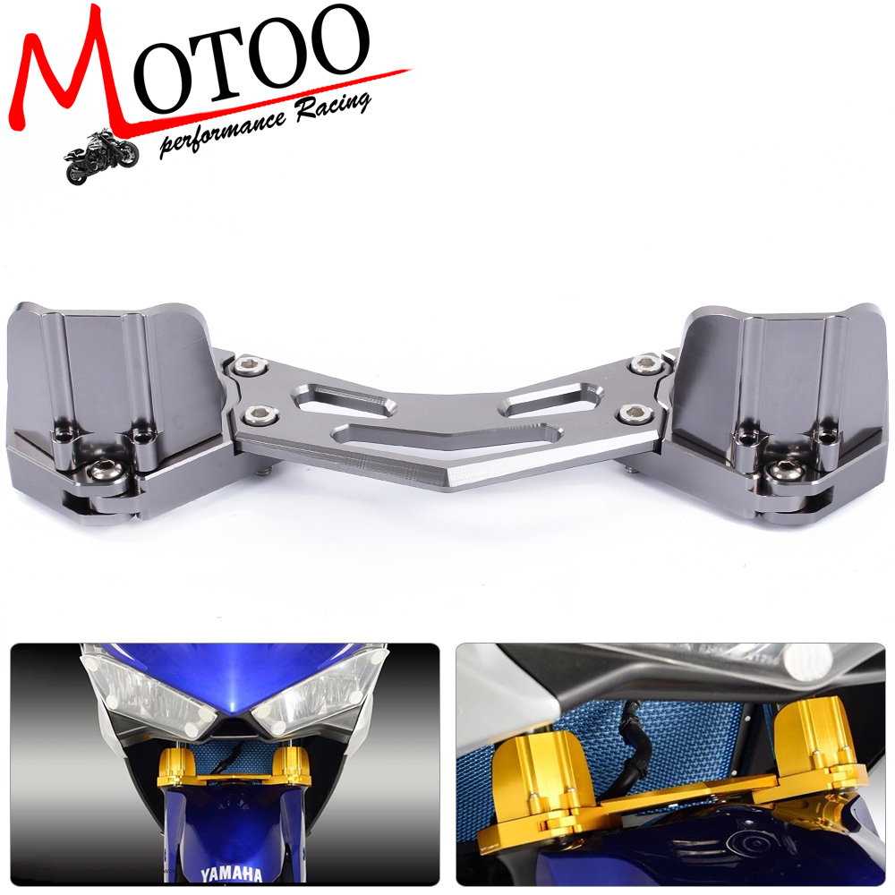 Motoo -  free shipping  Motorcycle  For Yamaha Yzf R3 2015-2016 Yzf R25 2013-2015 Balance Shock Front Fork Brace for yamaha yzf r25 14 15 yzf r3 2015 motorcycle accessories front