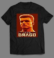 ROCKY IVAN DRAGO RUSSIA QUALITY MENS T-Shirt *MANY OPTIONS* *OLDSKOOL ARTWORK* Free shipping Harajuku Tops t shirt Fashion