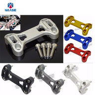 Motorcycle Parts Handlebar Fat Bar Riser Clamp Top Cover Support For BMW R1200GS ADV GSA LC