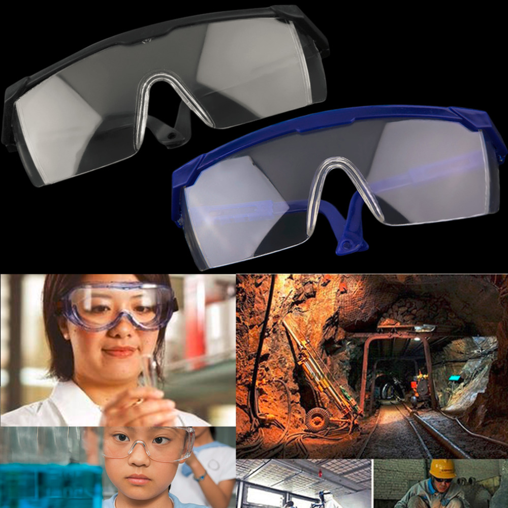 Safe Eye Protection Glasses Goggles Lab Dust Paint Dental Industrial Protective Eyewear Experiment Labor Test Durable Equipment