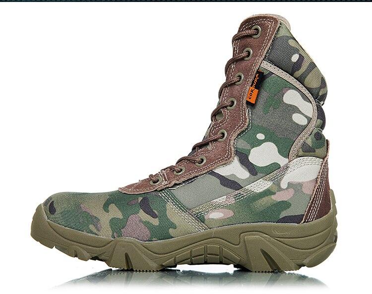 água acampamento trekking botas homens escalada camo sapatos esportivos