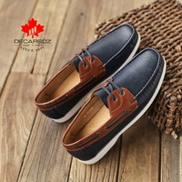 2020 New drive Moccasin Footwear Comfy Fashion Mixed Clors Luxury Leahter Boat Shoes Comfy Men Casual Shoes Men Loafers Shoes
