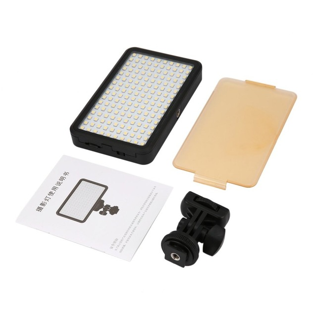 Camera Video Led Light 6000k Dimmable Fill Light Continuous Light