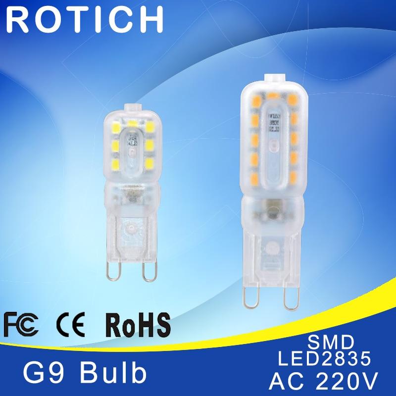led lamp g9 bulb 220v luz light smd 2835 chip 3w 5w ampoule luminaria led spotlight bombillas. Black Bedroom Furniture Sets. Home Design Ideas