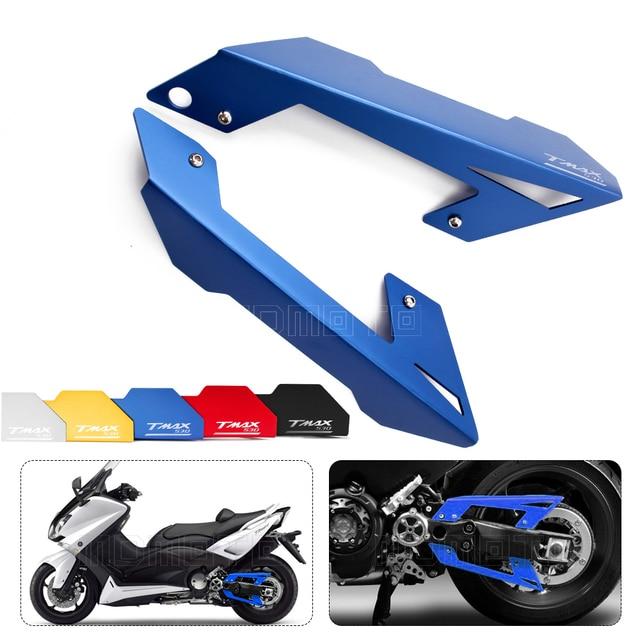 0b3016817e3ac Color Azul moto rcycle accesorios modificados CNC cinturón Protector de la  cubierta para Yamaha TMAX 530