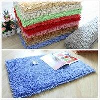 Water wash chenille bathroom balcony absorbent pads mats doormat carpet