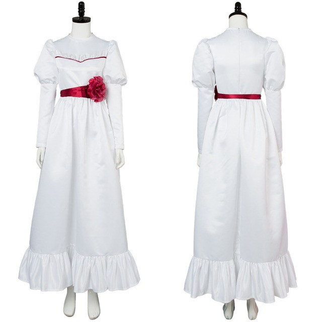 Annabelle Dress Cosplay Costume For Halloween Party Full Set