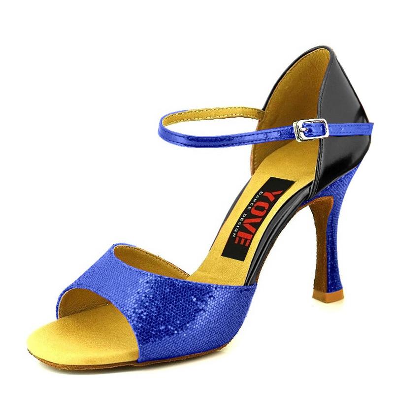 YOVE Style w133-13 Këpucë vallëzimi Bachata / Salsa Këpucë - Atlete - Foto 2
