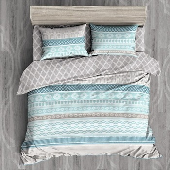 Nordic Brief style bedding sets queen size 4pcs  Bohemian Duvet Cover queen quilt cover Bed Linens Sheet Set boho style home