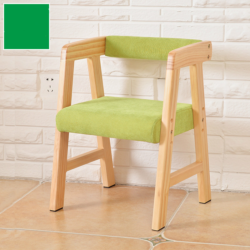 High quality wood chair lift children chair sofa stool baby dining chair for study excellent quality simple modern stools fashion fabric stool home sofa ottomans solid wood fine workmanship chair furniture