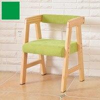 Legno di alta qualità seggiovia sedia per bambini divano sgabello bambino sedia da pranzo per lo studio
