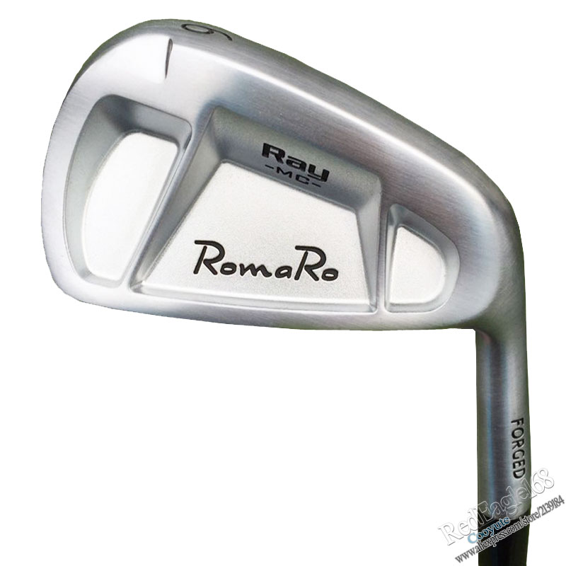 Cooyute New Golf Irons RomaRo Ray MC FORGED Golf Clubs 4-9P Golf Set Steel Or Graphite Golf Shaft And Irons Grips Free Shipping