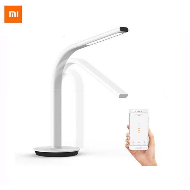 Original xiaomi mijia luz led inteligente lámpara de mesa 2 desklight eyecare lámpara de escritorio luz dual smartphone soporte app control remoto