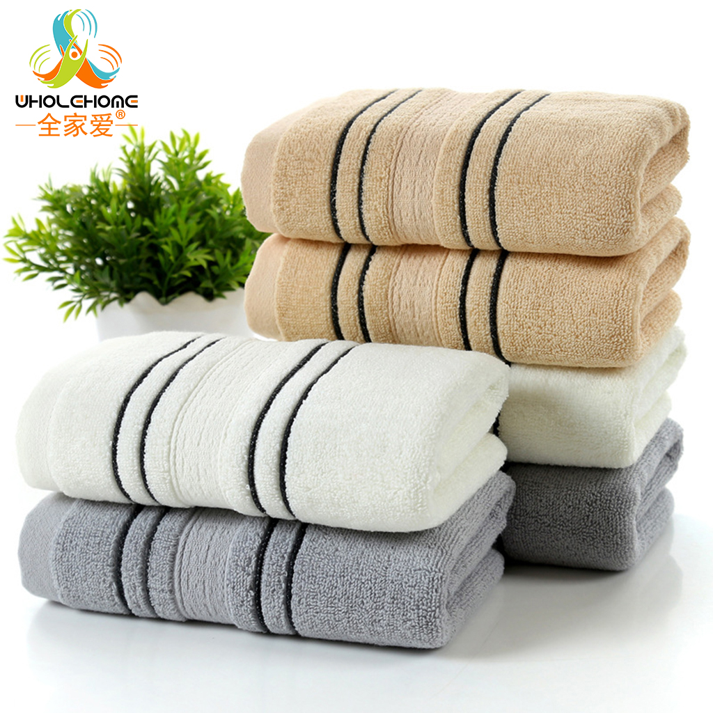 Highly Absorbent Beach Home Face Towel Adults Soft Cotton Shower Spa Towel
