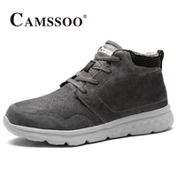 2017 Camssoo Womens Hiking Shoes Warmth Outdoor Shoes Breathable Climbing Sports Shoes For Women Purple Black