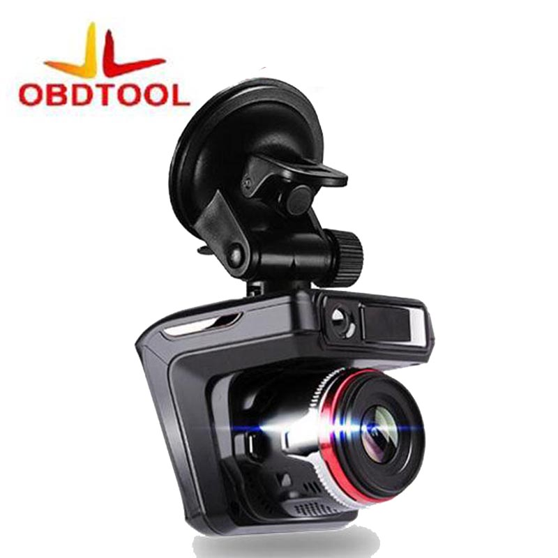 ObdTooL With Russian Voice Laser Radar 2 In 1 Car DVR 1080p HD Car Camera Recorder