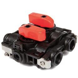 Пластиковый шунтирующий клапан для водяного фильтра и регулятора умягчения воды