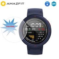 [В наличии] Xiaomi Huami AMAZFIT грани Смарт часы 3 Английский gps + ГЛОНАСС IP68 Водонепроницаемый мульти спорта Smartwatch здоровья трекер