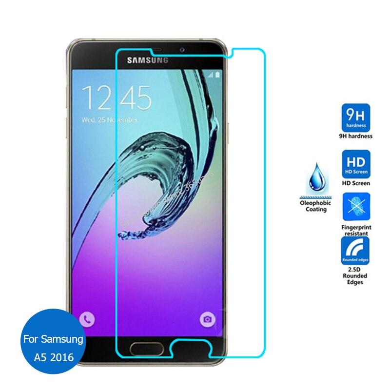 Для Samsung Galaxy A5 2016 закаленное Стекло Экран протектор 9 H Детская безопасность Ст ...