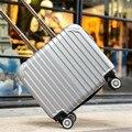 EVISPO 16 дюймовый тележки Взрослых камера spinner колеса прицепного тела мужчин и женщин интернаты сумки чемодан bagages рулетки