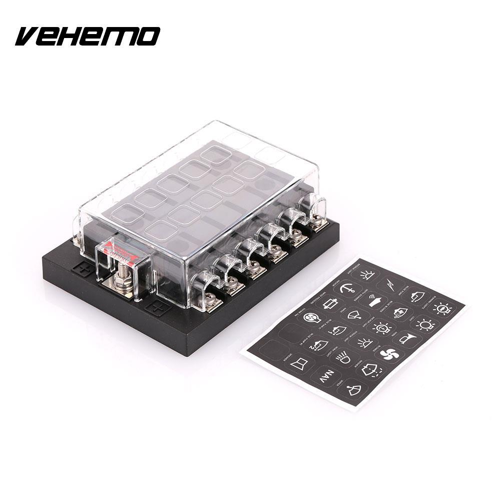 Vehemo Car Vehicle Auto Internal Circuits Fuse Box Case Mount Holder DC32V  202 12KW-in Fuses from Automobiles & Motorcycles on Aliexpress.com |  Alibaba ...