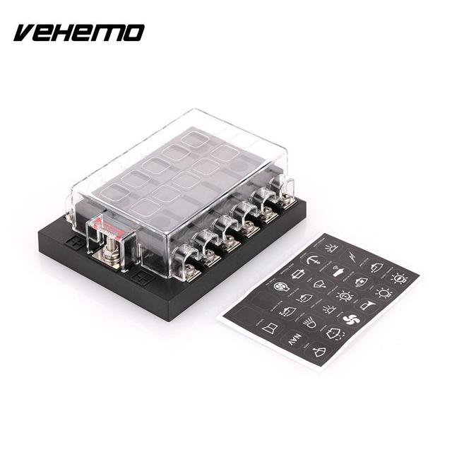 vehemo car vehicle auto internal circuits fuse box case mount holder antique fuse box vehemo car vehicle auto internal circuits fuse box case mount holder dc32v 202 12kw