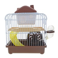 Double Layer Hamster cage Pet House Funny Guinea Pig Cage Acrylic Small Pets Mice House Chinchilla Ferret Hedgehog Hamster House