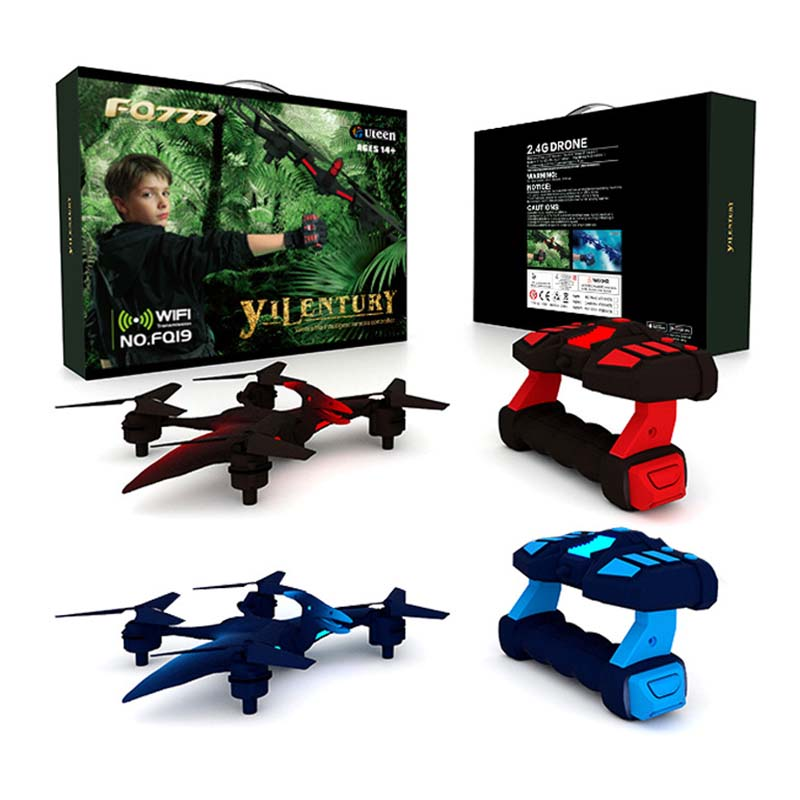 Dinosaure drone Winddragon like UAV WIFI Four Axis Vehicle Wearing Hand feeling Remote Control Aircraft Toys Mini drone in RC Helicopters from Toys Hobbies