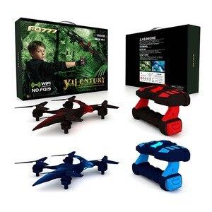 Image 5 - Dinosaure drone Winddragon like aéronef sans pilote (UAV) WIFI véhicule à quatre axes portant des jouets davion télécommandés à la main Mini drone