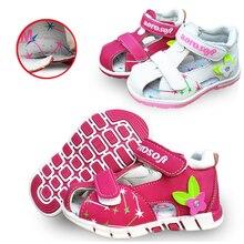 Belle 1 par été bébé orthopédique sandales antidérapant fille chaussures, Super qualité enfants / enfants chaussures à semelle souple