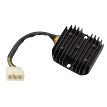 GOOFIT 6 wire motorcycle Voltage Regulator for 125cc-250cc Scooter H055-008