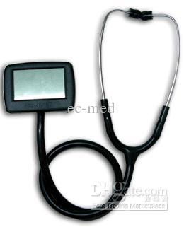 Wholesale - Hot product~ CE Certified Multi- Function Electronic Stethoscope (CMS-M) best price multi function digital visual electronic stethoscope spo2 pulse oxygen saturation with ce approved cms m
