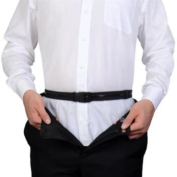 Men Women Adjustable Shirt-Stay Best Shirt Stays for men Black Tuck It Belt Shirt Men Belt Designed Hold up Shirt D 10
