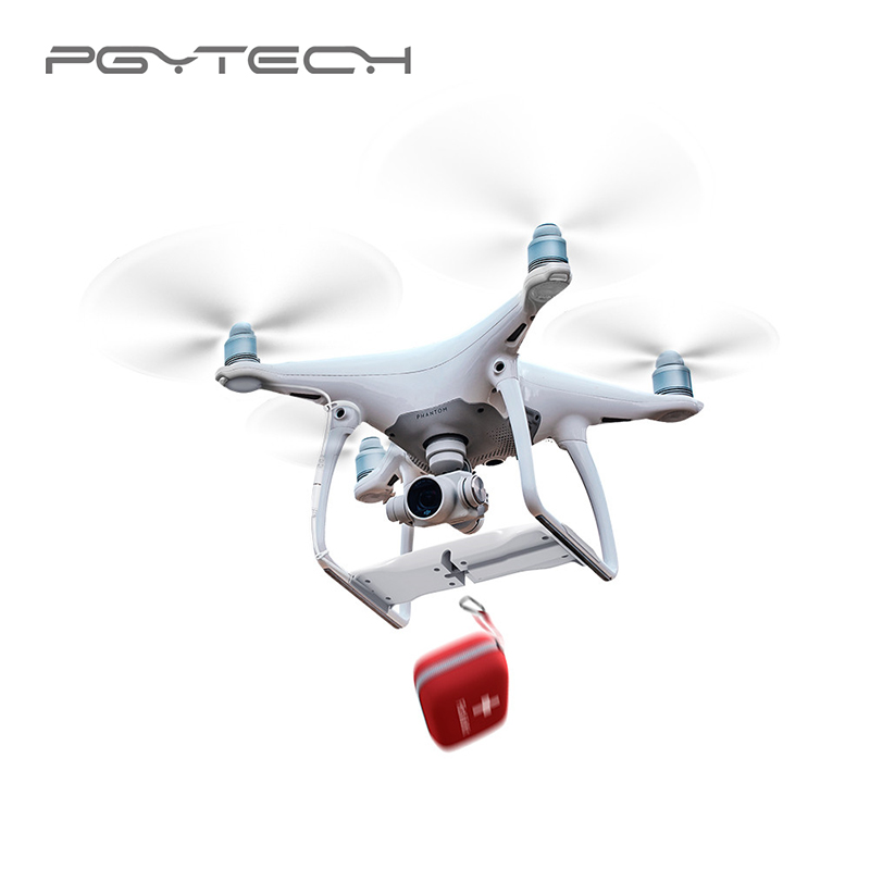 PGYTECH Air-Dropping System for DJI Phantom 4 Pro Plus Phantom Adv Drone Accessories White Color Useful and Interesting Parts