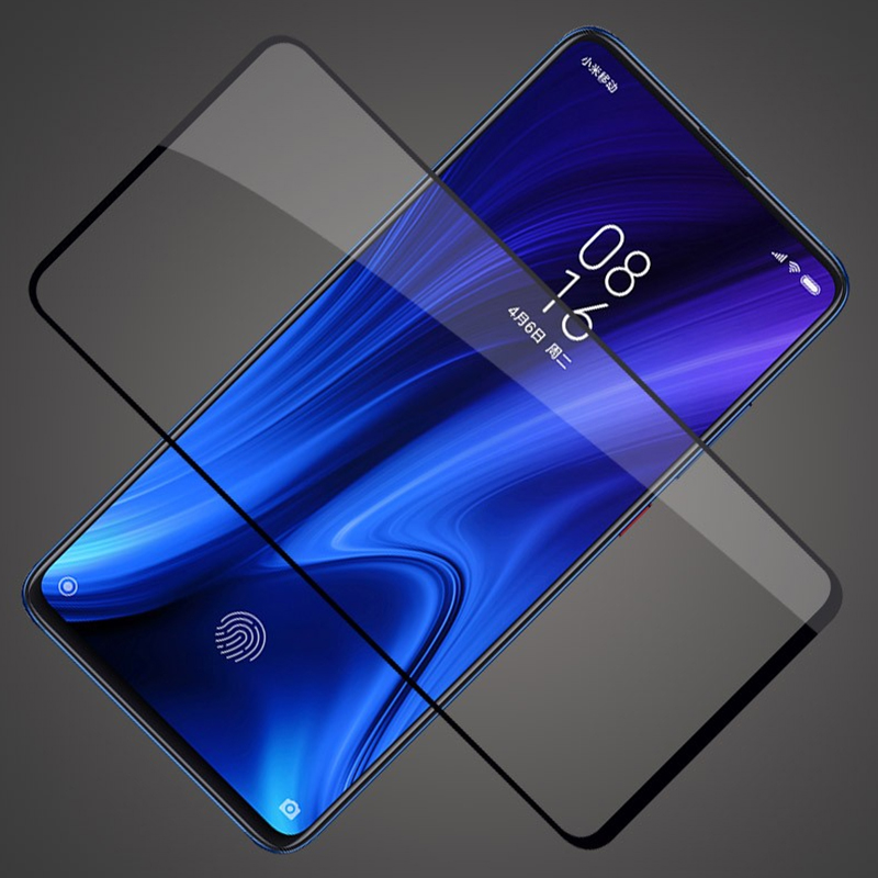 9D Protective Glass For Xiaomi mi 9T pro Redmi k20 pro Full Glue Screen Protector Tempered film For Xiaomi mi CC9 Pro in Phone Screen Protectors from Cellphones Telecommunications