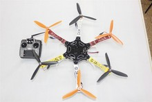 JMT DIY Drone F550 Hexacopter Kit 1045 3-Props 10ch RC Hexa-Rotor QuadCopter & High Landing Gear No Battery / Charger