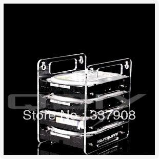 YJ-Y4G Hanging Acrylic 3.5 Inch Hard Drive Mount Hard Drive Box For DIY hard drive for wd1502faex