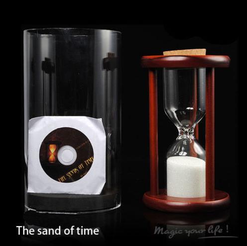 Les sables du temps magie scène tours de magie professionnels gros plan magie Gimmicks mentalisme magie