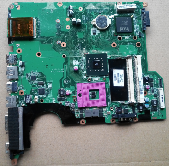 все цены на  482868-001 For hp DV5-1000 DV5 laptop motherboard intel GM45 DDR2 Mainboard full tested  онлайн