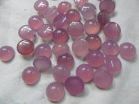 AA GRADE 50pcs 6 16mm chalcedony ROUND cabochon gemstone pink violet purple green olive agate chalcedony beads chalcedony jewel
