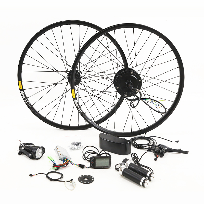 36V 250 350W Electric Bike Kit for 26 27 5 29 Wheel Motor Kettle Battery LED