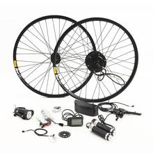 36 В 250/350 Вт электрический велосипед комплект для 26′ 27,5 '29' Мотор колеса чайник Батарея светодио дный ЖК-дисплей Ebike e велосипед электрический велосипед преобразования g001