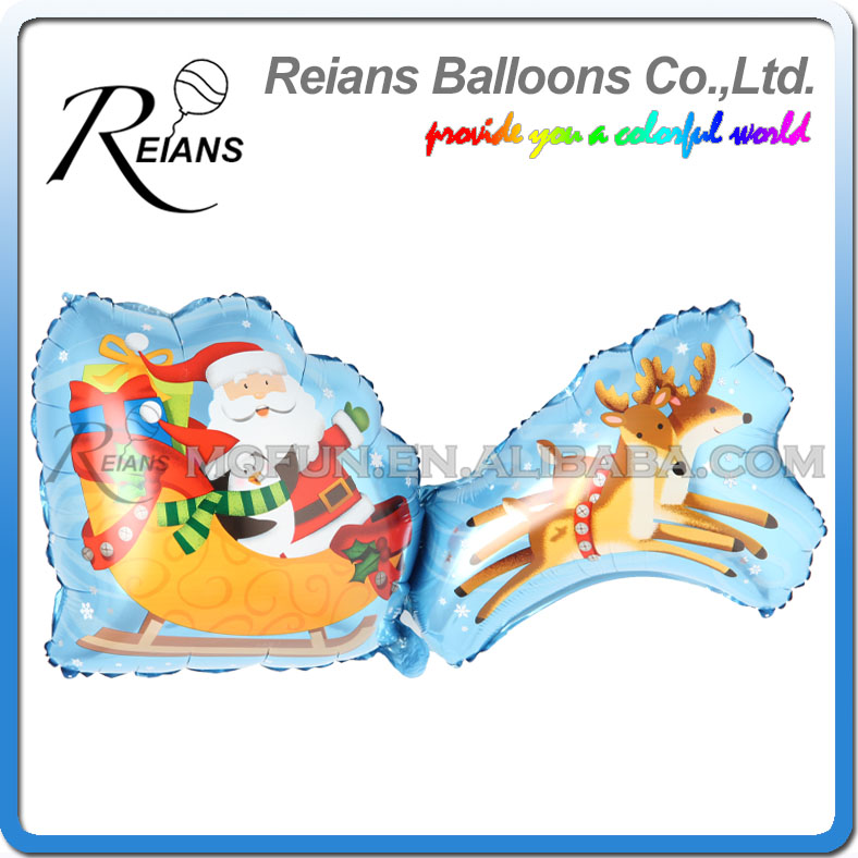 Wholesales 200pcs REIANS 95cm cartoon Big Elk Cart kids festival christmas decoration al ...
