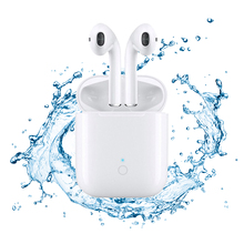 Latest Mini LK-TE9 TWS High Quality Headset Bluetooth v5.0 earphones New Wireless Earphones 1:1 Support Charging