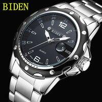 Reloj Hombre BIDEN Fashion Casual Business Men S Watches Top Brand Luxury Quartz Watch Clock Male